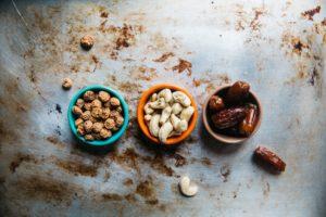 Des oléagineux contenant du bon gras contrairement au Simplissime étudiant