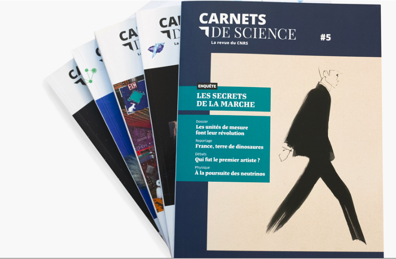 Carnets de sciences, revue du CNRS : exemple de publication scientifique