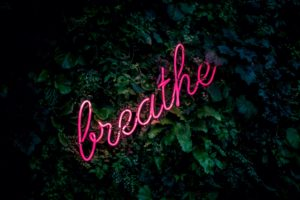 "texte ""breathe"" pour respire"