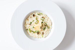 assiette de risotto