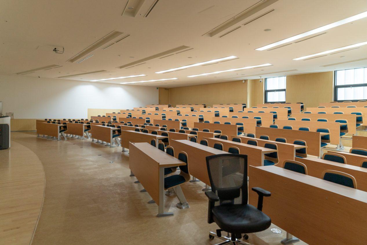salle d'examen vide