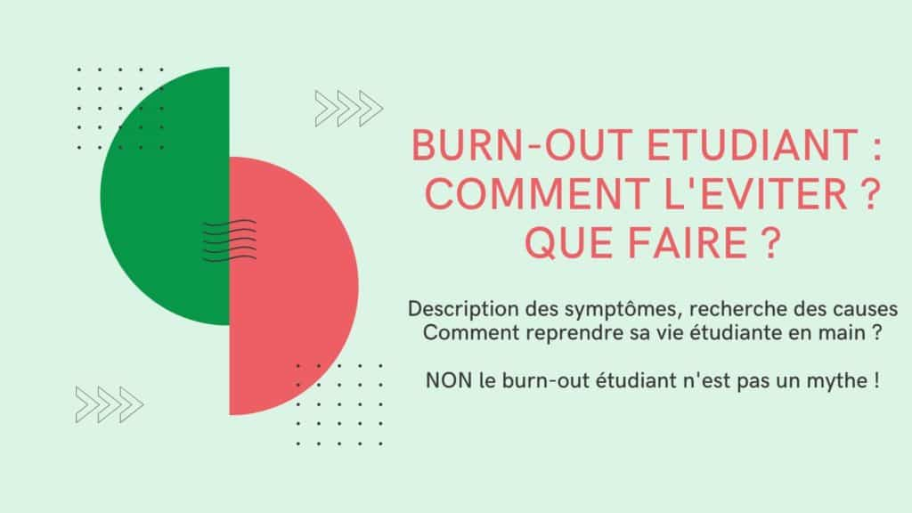 burn-out étudiant